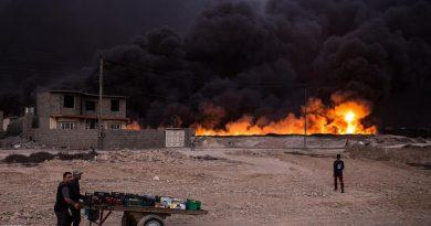 النفط تعلن إطفاء البئر 58 في حقل القيارة جنوب الموصل