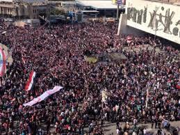 مظاهرات التيار الصدري في التحرير
