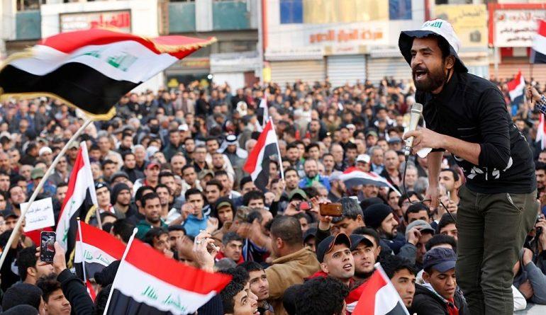 مظاهرات بغداد3