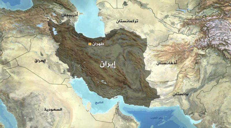 خارطة ايران