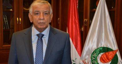 وزير النفط العراقي: يجب أن يشمل تخفيض الإنتاج إقليم كردستان أيضاً