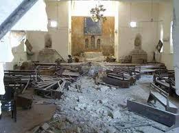تفجير كنيسة