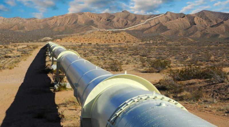 انابيب النفط والاراضي الزراعية 1