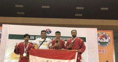 العراق يحصد خمس ميداليات في بطولة آسيا للجوجتسو والسامبو