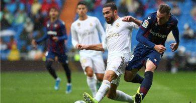 بنزيما يقود ريال مدريد لتفادي مفاجأة ليفانتي