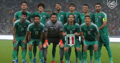العراق يتعادل مع البحرين ويتمسك بصدارة مجموعته الثالثة