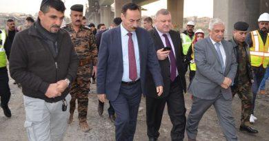 محافظ نينوى يعلن البدء بنصب جسر عائم في الموصل
