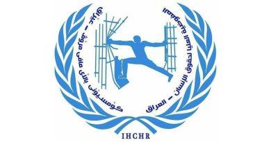 حقوق الإنسان توثق احداث التظاهرات في بغداد وعدد من المحافظات