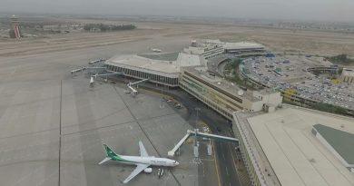 سلطة الطيران ترد على بيان النزاهة حول فحوصات 'كورونا' في مطار بغداد