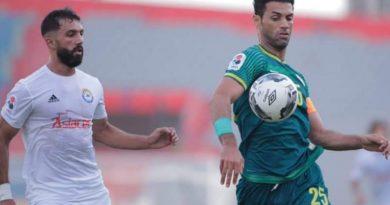 التعادل الإيجابي في المباراة الأولى من الدوري العراقي بين الشرطة والزوراء