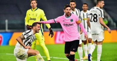 برشلونة يفوز على يوفنتوس بمباراة غريبة ومانشستر يكتسح لايبزيغ بخماسية