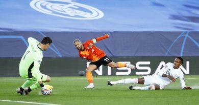 دوري أبطال أوروبا…ريال مدريد يخسر بثلاثية على ملعبه أمام شاختار الاوكرني