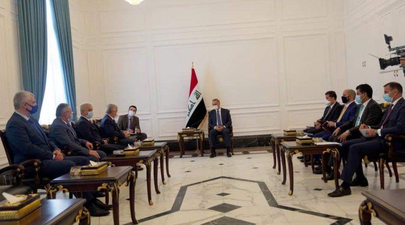 الكاظمي لمبعوث الرئيس الروسي : الطموح في مستوى العلاقات بين العراق وروسيا الاتحادية أكبر من الواقع الحالي لها