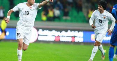 العراق يفوز على الكويت في ودية البصرة