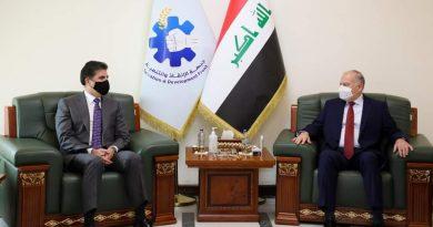 النجيفي  يبحث مع البارزاني الأوضاع في الموصل