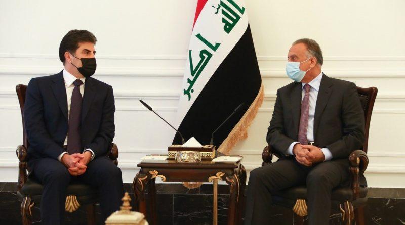 الكاظمي يوجه بتطبيق اتفاق بين الجيش العراقي والبيشمركة
