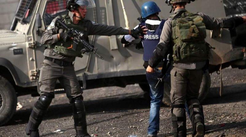 الاتحاد الدولي للصحفيين يطالب بتحرك فوري لتحميل الاحتلال مسؤولية استهداف الصحفيين الفلسطينين