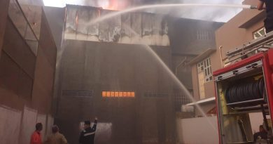 10 فرق إطفاء تخمد حريقاً كبيراً في بابل