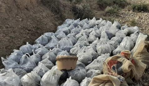 تفجير كدس للعتاد يحوي 65 عبوة ناسفة و8 مقذوفات في نينوى